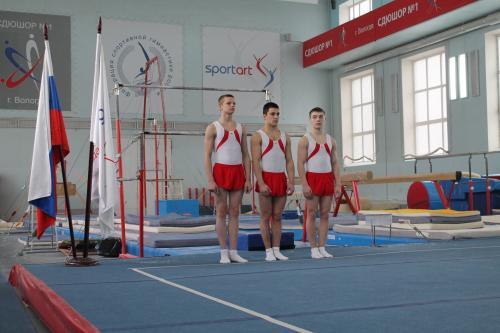Вологодские гимнасты на призовых местах